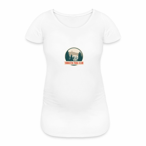 Tawastia Trail Logo - Naisten äitiys-t-paita