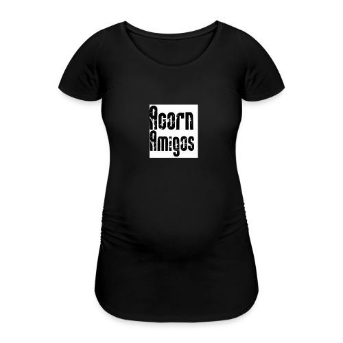 acorn amigos badge - Gravid-T-shirt dam