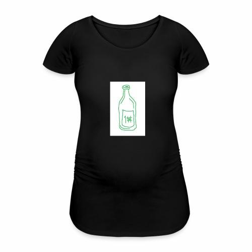 Alkoholi - Naisten äitiys-t-paita