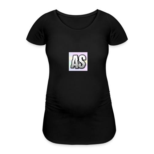 Logo AltijdSenna - Vrouwen zwangerschap-T-shirt