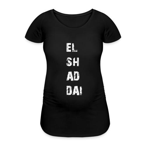 EL SH AD DAI 2 - Frauen Schwangerschafts-T-Shirt