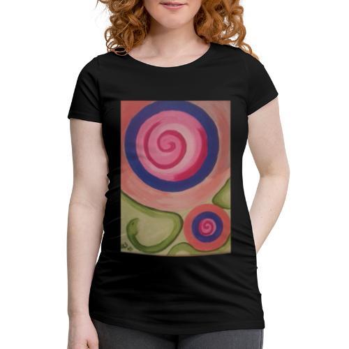 spirale con serpente - Maglietta gravidanza da donna