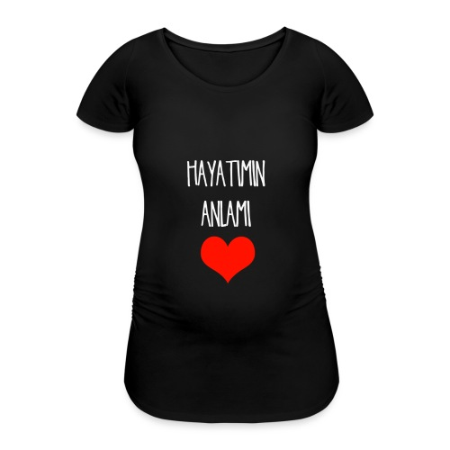 Hayatimin Aalami Schwangerschaft shirt - Frauen Schwangerschafts-T-Shirt