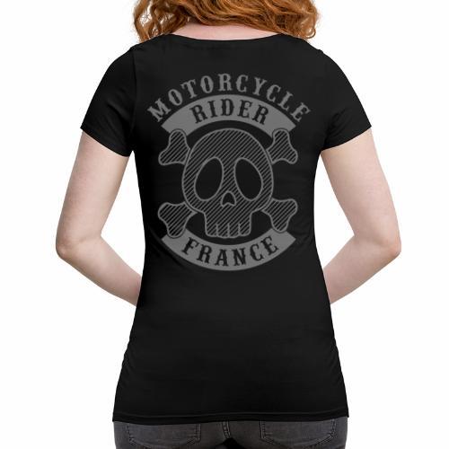 Motorcycle Rider France - T-shirt de grossesse Femme