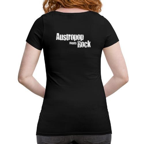 Austropop meets Rock classic back - Frauen Schwangerschafts-T-Shirt