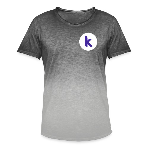 Classic Rounded Inverted - Men's T-Shirt with colour gradients