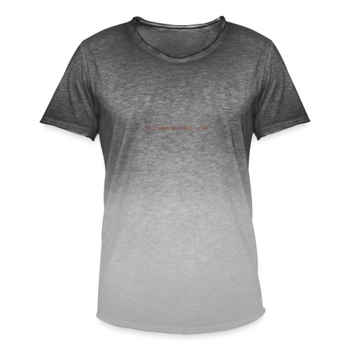 Be A Savage - Men's T-Shirt with colour gradients
