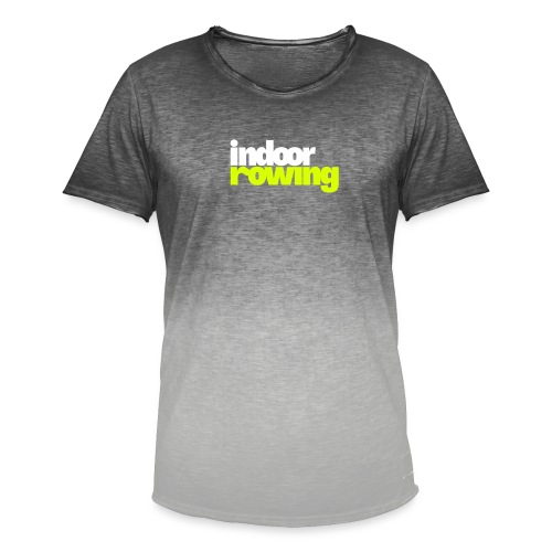 indoor rowing logo 2c - Men's T-Shirt with colour gradients