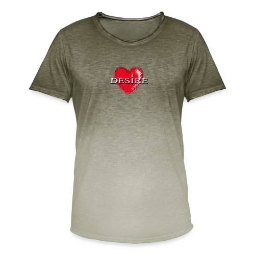 Desire Nightclub - Men's T-Shirt with colour gradients