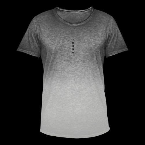 ENDUO black - T-shirt dégradé Homme