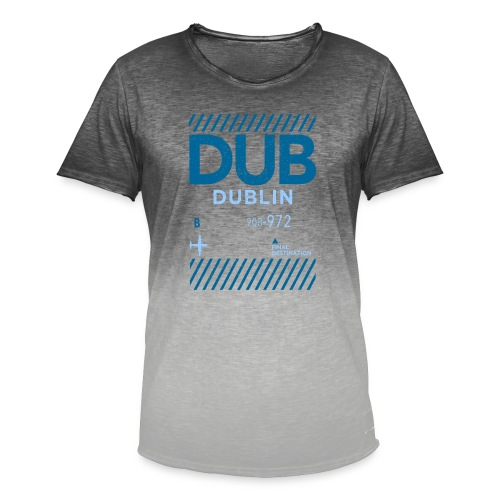 Dublin Ireland Travel - Men's T-Shirt with colour gradients