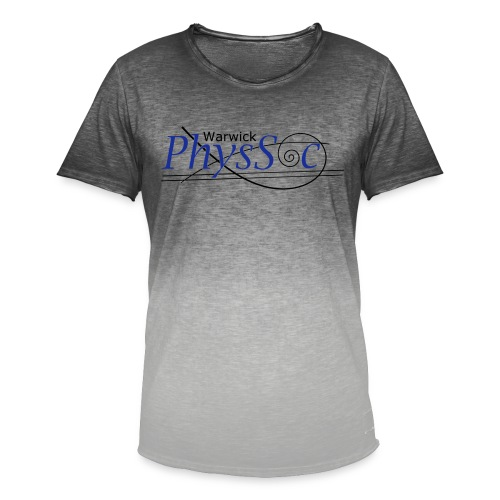 Official Warwick PhysSoc T Shirt - Men's T-Shirt with colour gradients
