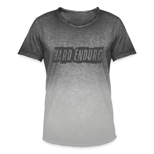 Hard Enduro - Men's T-Shirt with colour gradients