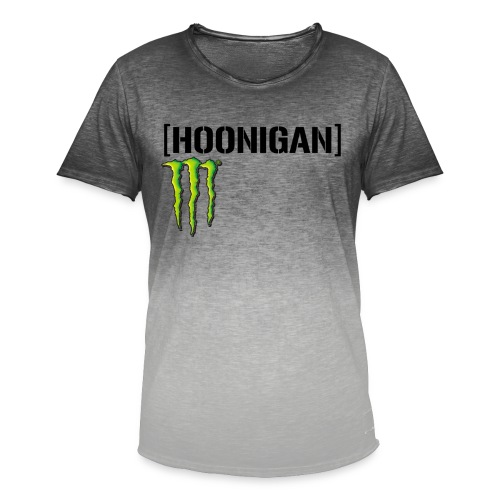 monster energy hoonigan - T-shirt med färgtoning herr