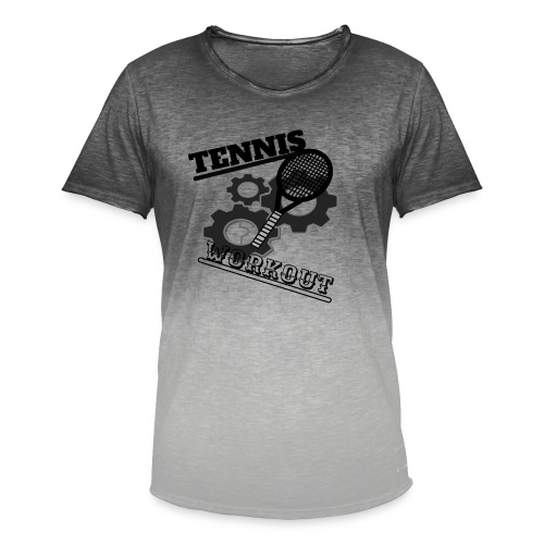 TENNIS WORKOUT - Men's T-Shirt with colour gradients