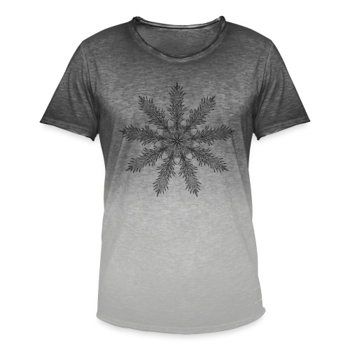 Magic Star Tribal #4 - Men's T-Shirt with colour gradients