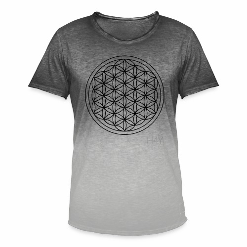 Flower Of Life - This Design Will Heal You - Herre T-shirt i colour-block-optik