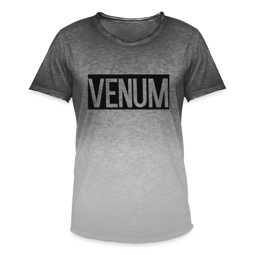 VENUM ORIGINAL WHITE EDITION. - Men's T-Shirt with colour gradients