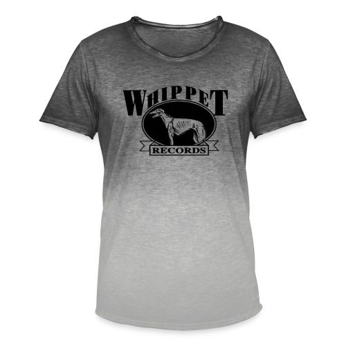 whippet logo - Men's T-Shirt with colour gradients