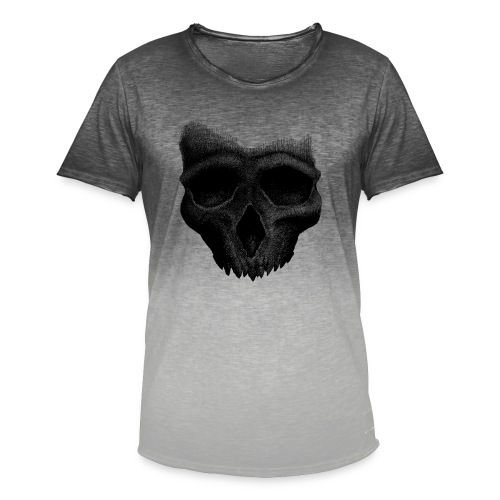 Simple Skull - T-shirt dégradé Homme