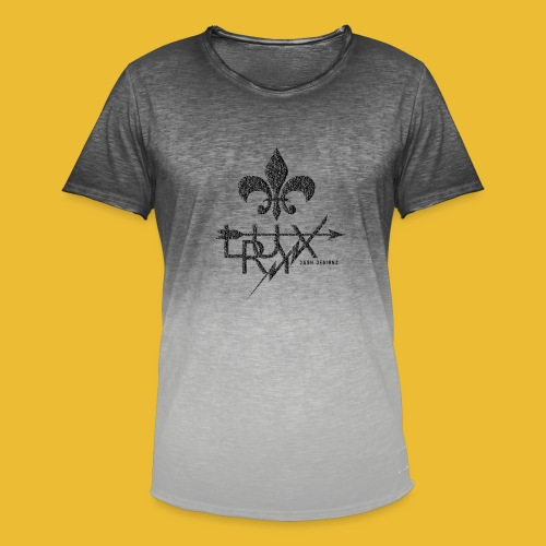 Luxry (Faded Black) - Men's T-Shirt with colour gradients