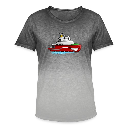 Boaty McBoatface - Men's T-Shirt with colour gradients