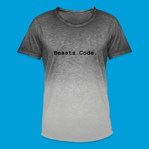 Beasts Code. - Men's T-Shirt with colour gradients