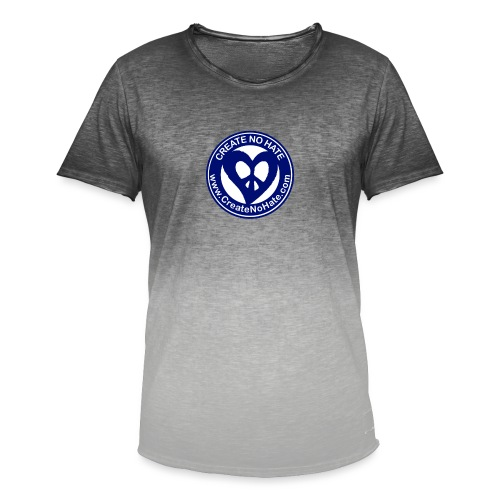 THIS IS THE BLUE CNH LOGO - Men's T-Shirt with colour gradients
