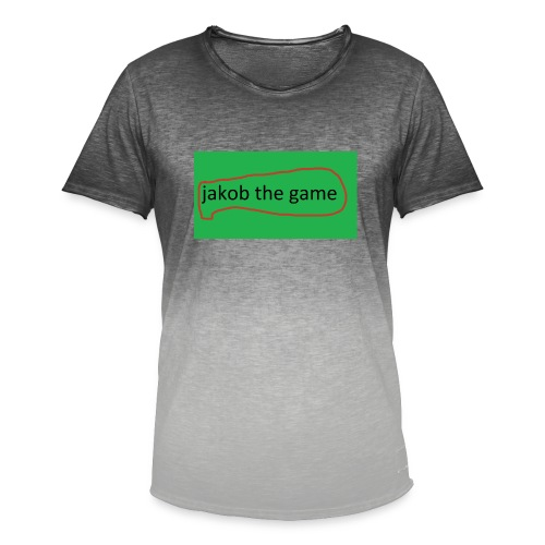 jakobthegame - Herre T-shirt i colour-block-optik