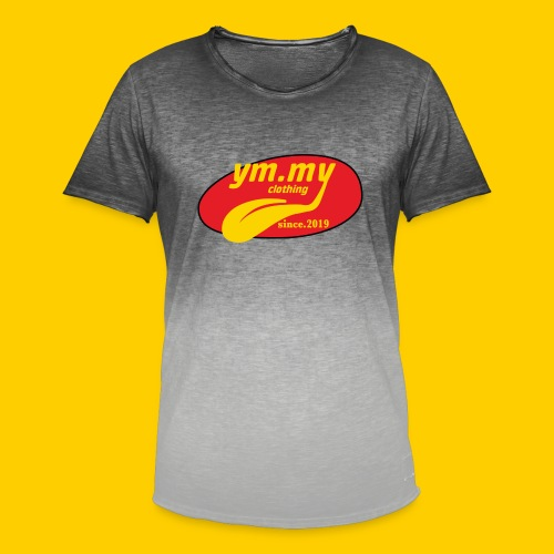YM.MY clothing LOGO - Men's T-Shirt with colour gradients
