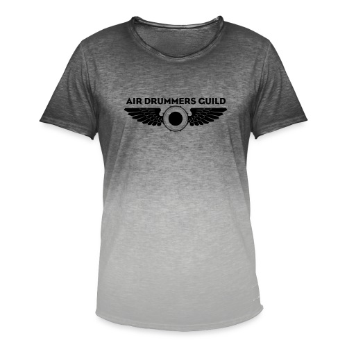 ADG Drum'n'Wings Emblem - Men's T-Shirt with colour gradients