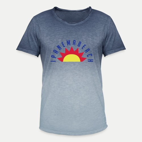 Ipanema Beach - Men's T-Shirt with colour gradients