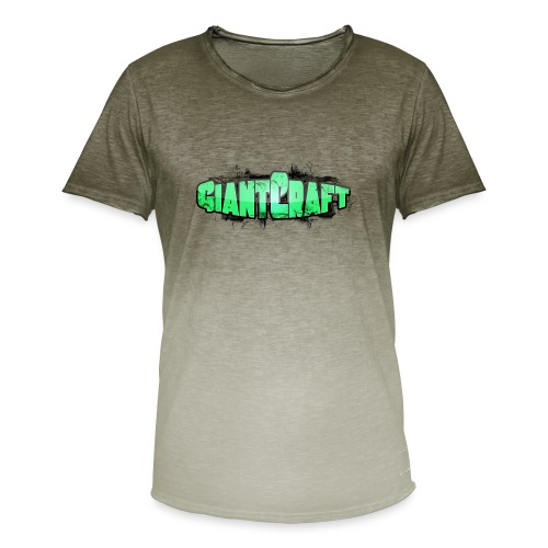 Vandflaske - GiantCraft - Herre T-shirt i colour-block-optik