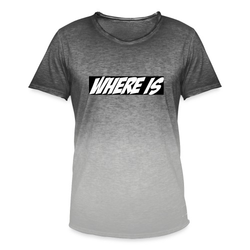 Where IS - T-shirt dégradé Homme