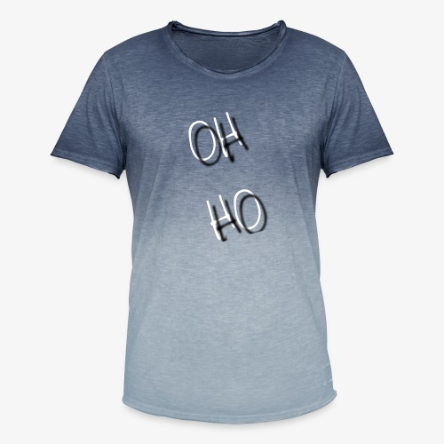 OH HO - Men's T-Shirt with colour gradients