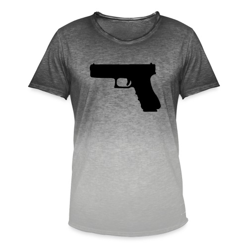 The Glock 2.0 - Men's T-Shirt with colour gradients