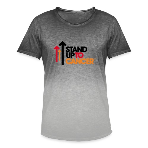 stand up to cancer logo - Men's T-Shirt with colour gradients