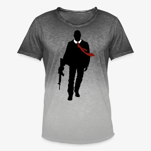 PREMIUM SO GEEEK HERO - MINIMALIST DESIGN - T-shirt dégradé Homme