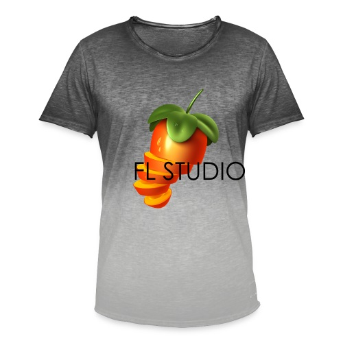 Sliced Sweaty Fruit - Men's T-Shirt with colour gradients