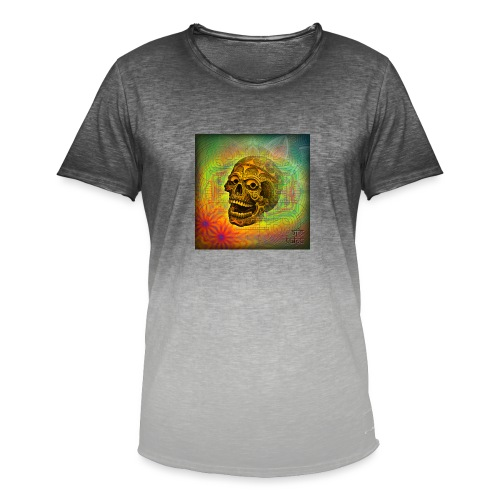 AJJA PSY TRANCE - Men's T-Shirt with colour gradients