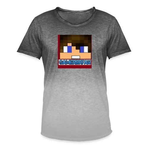 Gamerbryan custom picture - Men's T-Shirt with colour gradients