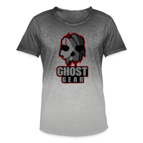 Ghost Gear Skull - Men's T-Shirt with colour gradients