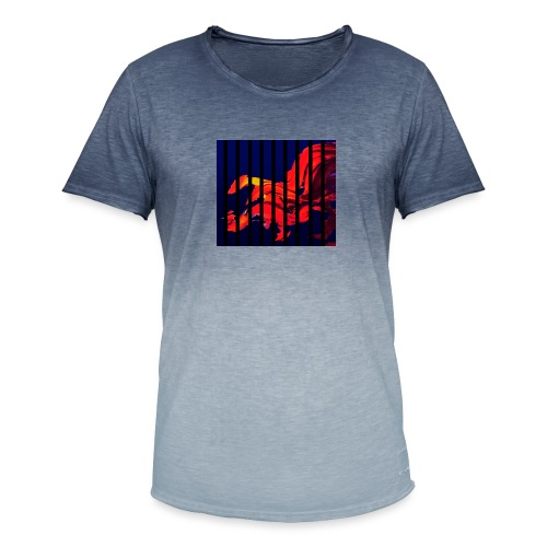 B 1 - Men's T-Shirt with colour gradients