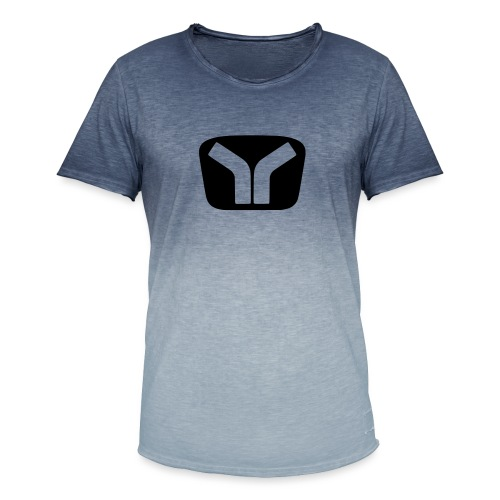 Yugo Logo Black-Transparent Design - Men's T-Shirt with colour gradients