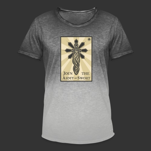 Join the army jpg - Men's T-Shirt with colour gradients