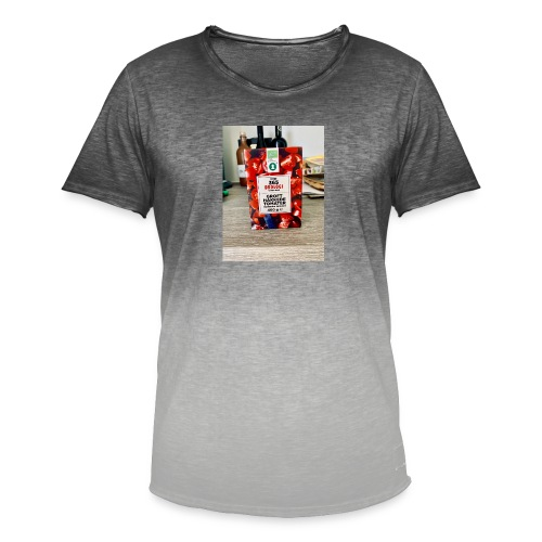 Tomato - Herre T-shirt i colour-block-optik