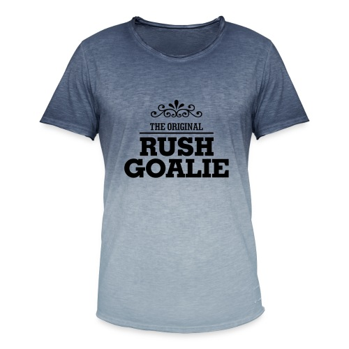 The Original Rush Goalie - Men's T-Shirt with colour gradients