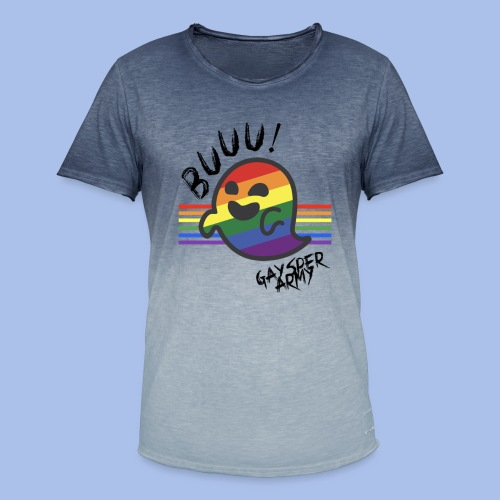BUUU! - Men's T-Shirt with colour gradients