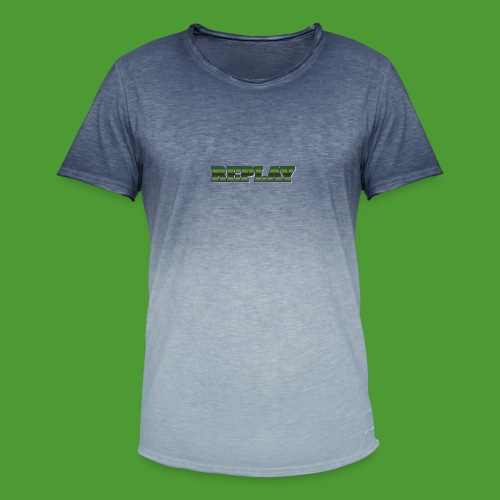 Official Merch 'REPLAY' Brand - Men's T-Shirt with colour gradients