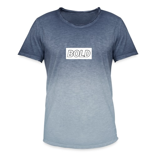 Bold Bold - Men's T-Shirt with colour gradients